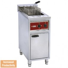 FSM-16E/N Electric fryer 16 lit. on undercarriage 4-8-12 Kw