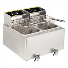 Buffalo GH125 Double Tank Electric Fryer