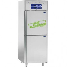 Ventilated refrigerator and freezer 2x350 liters, 2x 1/2 doors GN 2/1