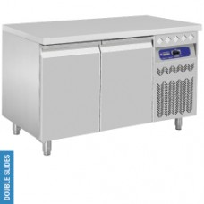 DT131/PM - Ventilated refrigerated table, 2 doors GN 1/1